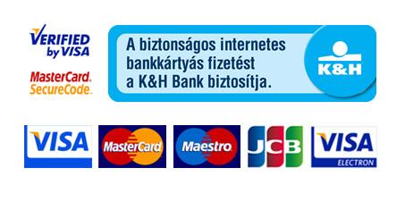 Bankkártyás fizetés - Kártya logók