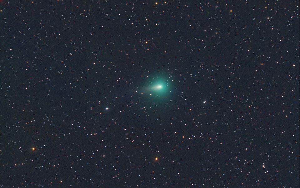 A C/2019 Y4 (ATLAS) üstökös Michael Jager 2020. április 15-én készült felvételén
