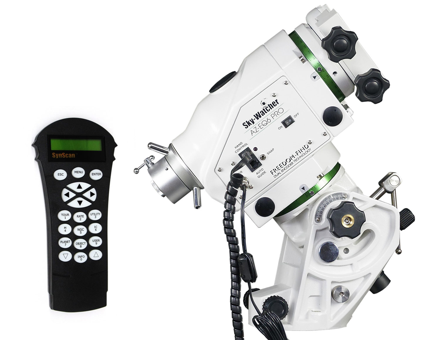 AZ-EQ6-goto head with SynScan GoTo controller (without counterweight,  without tripod)