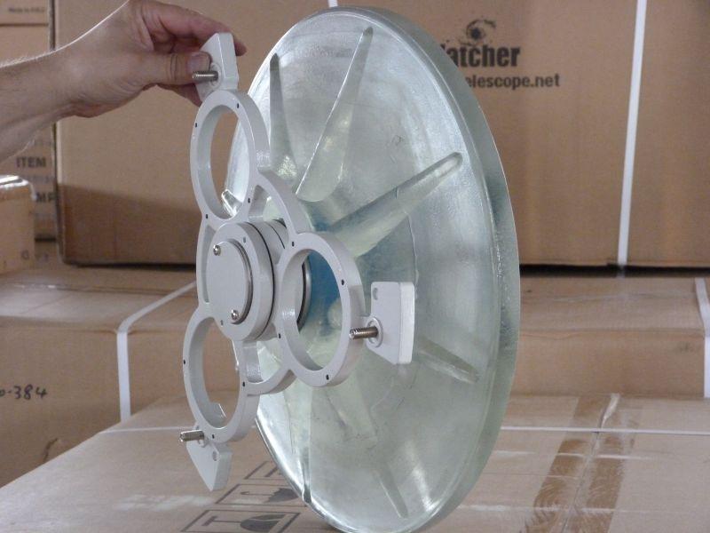 Astronomie teleskope spiegelteleskope