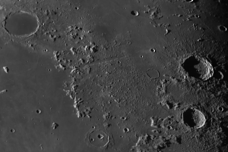Plato, Vallis Alpes, Aristoteles, Cassini, Eudoxus