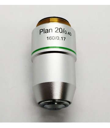 Planobjective lens (20x, 160mm)