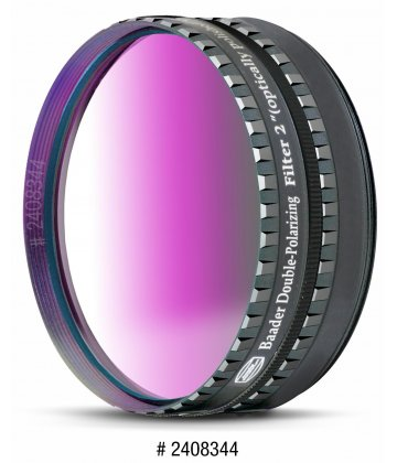 Baader double polarising filter 2""