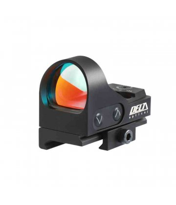 Delta Optical Minidot HD 26 with 6 MOA dot, Weaver