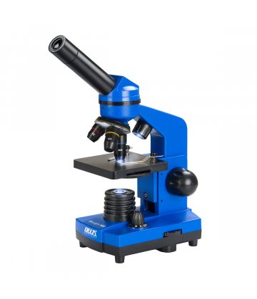 Delta Biolight 100 microscope set (blue)