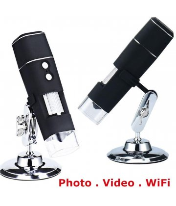 MicroQ WiFi Microscope for mobile phone