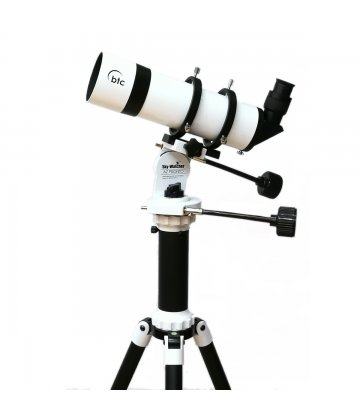 80mm helical telescope on AZ Pronto mount