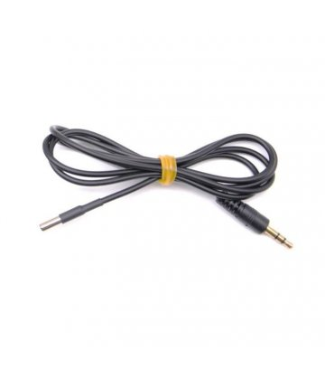 Cable with temperature-sensor for EAF