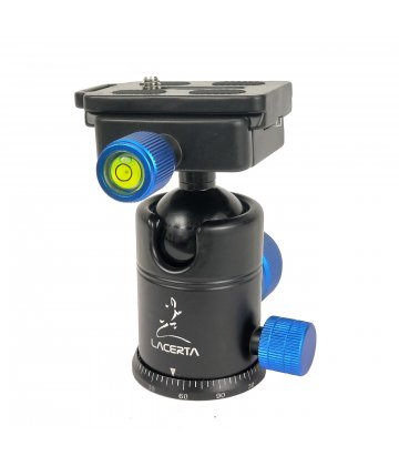 Lacerta CNC ball head (7kg payload)