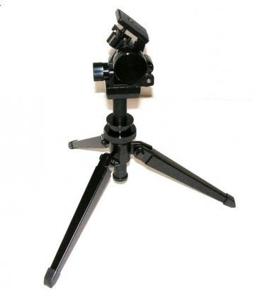 Lacerta Micro-fine adjustment 2D head with metal table tripod