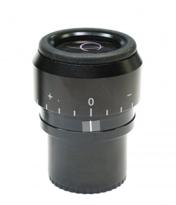 WF 10x / 22mm high point microscope eyepiece (30.0mm) with dioptry-adjustment