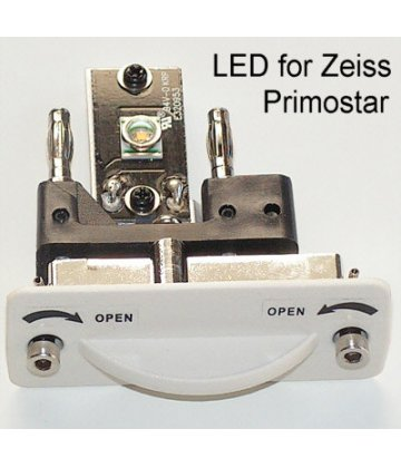 LED light with platform for ZEISS Primostar microscopes
