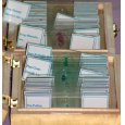 Prepared microscope slides (25 pieces, for highschool)  (#E)