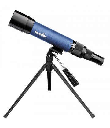50mm SkyWatcher travelscope, 15-45x magnification