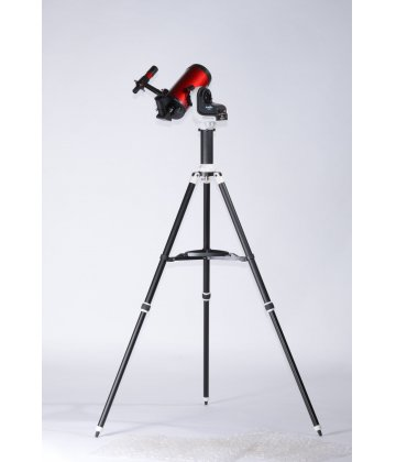 102/1300 SkyWatcher Maksutov on MiniAZGT mount in cherry color