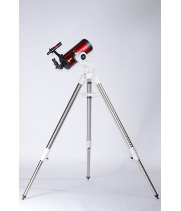 127/1500 SkyWatcher TravelMax Maksutov on AZ5s mount with steel tripod in cherry color