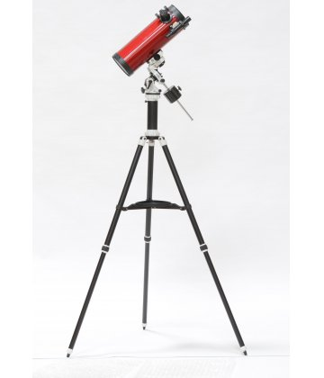 114/500 SkyWatcher Newton on Avant (AZEQ) mount in cherry color