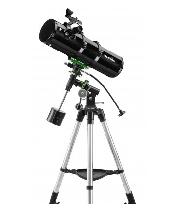 130/650 SkyWatcher Explorer-130PS Newtonian reflector on NEQ2 mount