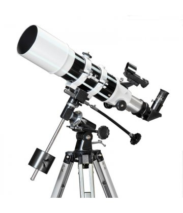 102/500 SkyWatcher Fraunhofer refractor on EQ1 mount
