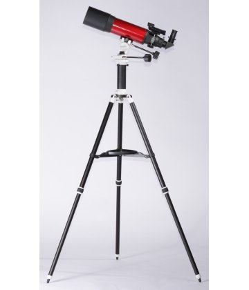 102/500 SkyWatcher Fraunhofer refractor on AZ3-R (Pronto) mount in cherry color