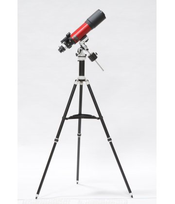 102/500 SkyWatcher Fraunhofer refractor on Avant (AZEQ) mount in cherry color