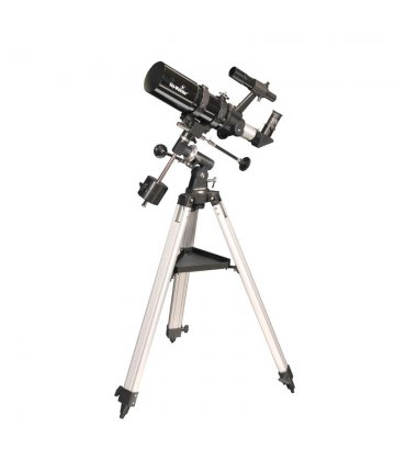 80/400 SkyWatcher refractor on EQ1 mount