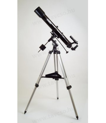 90/900 (Luna-90) SkyWatcher refractor on EQ2 mount
