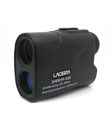 Sheriff-400 rangefinder and velocity-control