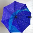 Astro-Umbrella with skymap and UV-reflexion outside