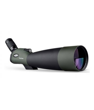 100mm Acuter spotting scope, 22-66x magnification, 45 deg erecting view