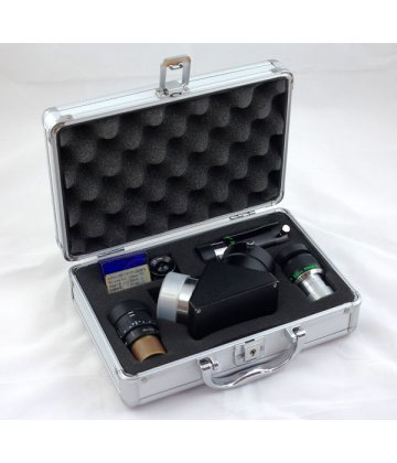 Telescope and eyepiece cases (aluminium)