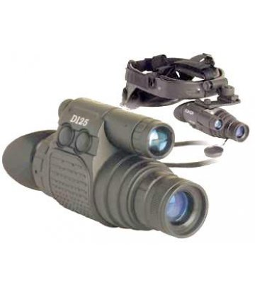 Dipol D125 night vision device with head mask