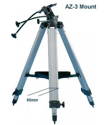 SkyWatcher AZ3 mechanika