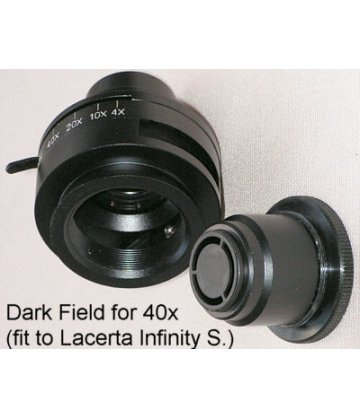 Dark field set for Lacerta Infinity series