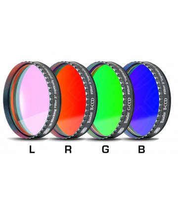 LRGB filters for monochrome CCD cameras