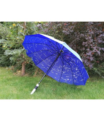 Umbrella with star map