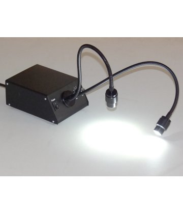 LED dual coldlight source for microscopy