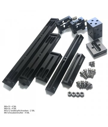 Construction kit for telescope assembly