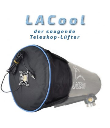 Lacerta Cooling Cover with fan for Newtonians