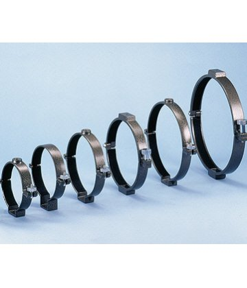 Pair of tube rings 183mm diameter